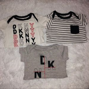 Other - DNKY 3pc onesies